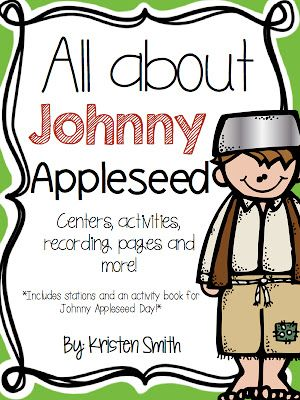 Happy Johnny Appleseed Day!!!We have gone overboard with apples… and Johnny.We sing about him:(warning this song is sure to get stuck in your head!)We write about him:…