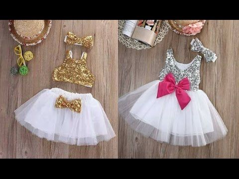 9606e966781c Latest kids Partywear Fancy Frocks Designs