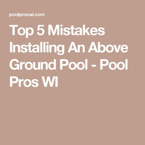 25 best ideas about above ground pool decks on pinterest for Pool design mistakes