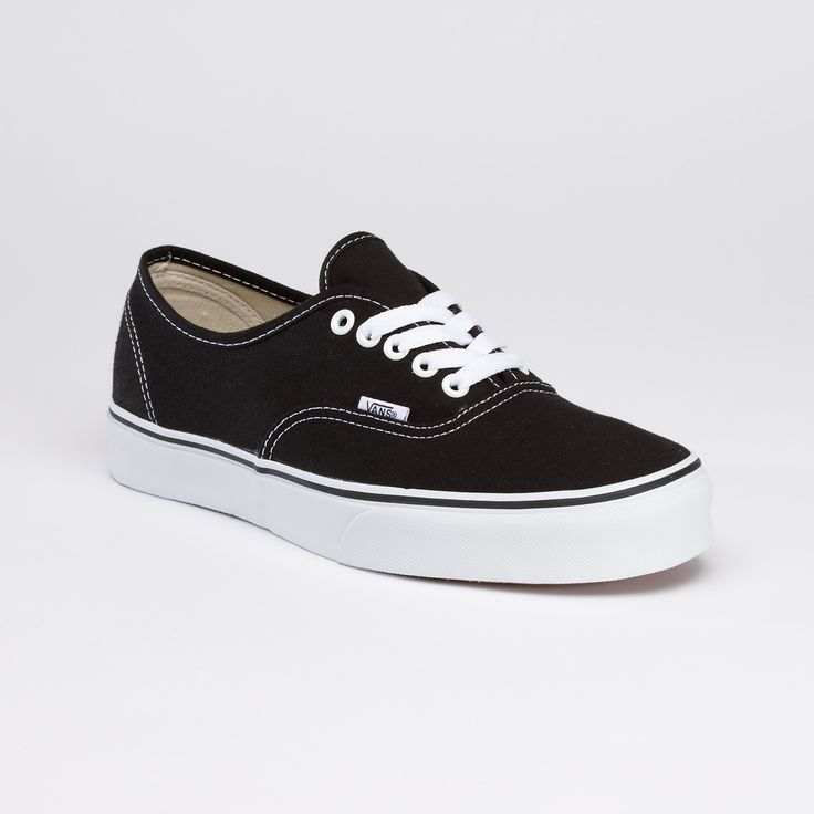 black; Original Classic Authentic  by Vans