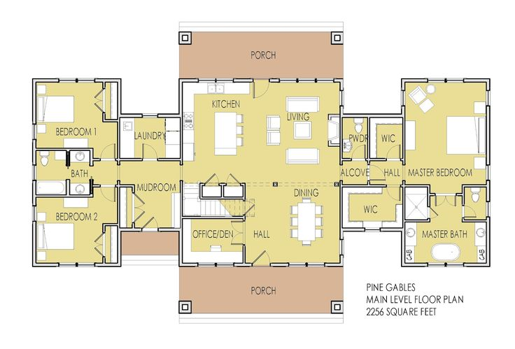 open floor house plans | Simply Elegant Home Designs Blog: New House Plan Unveiled