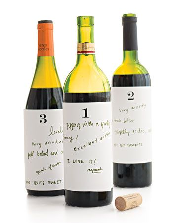 """This wine tasting """"game"""" would make for a fun wine and cheese night. And test your taste in wine uninhibited by labels and price!"""