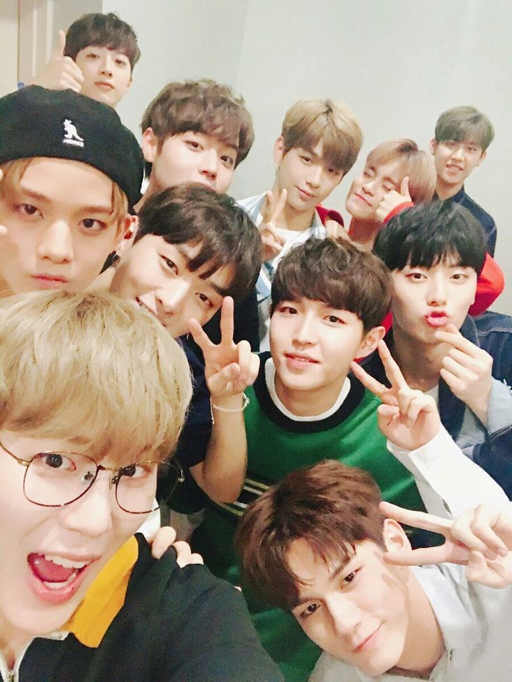 Wanna One Twitter Update | 08/18/17