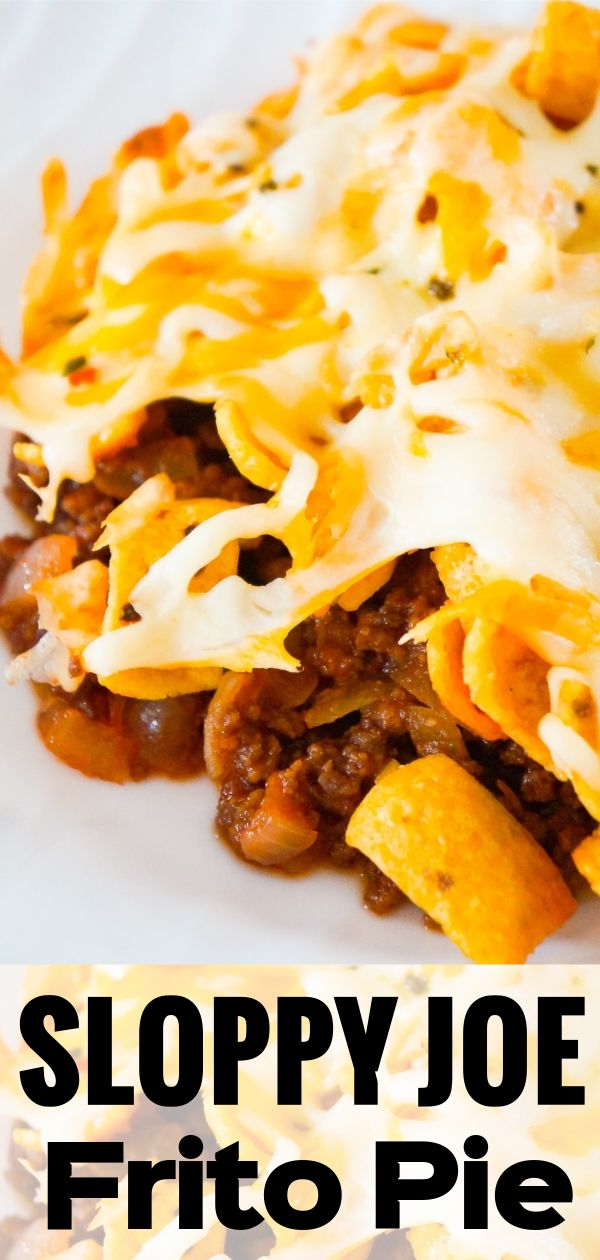 Sloppy Joe Frito Pie Yummy Casserole Recipes Frito Pie Frito Pie Recipe