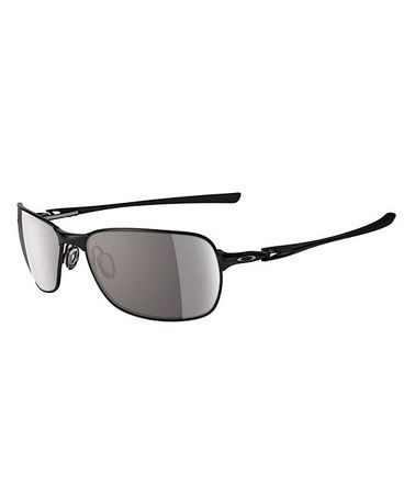 Gray & Polished Black C Wire Sunglasses by Oakley #