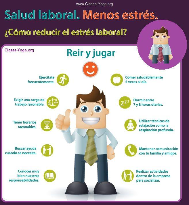 Tips y consejos para reducir el estres, el estres laboral ...