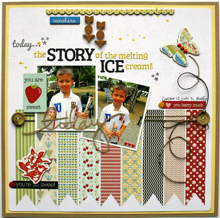 The story of ... - Lily Bee - Scrapbook.com