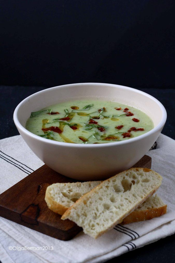 Mango & Tomato: Summer Zucchini Soup Recipe Inspired by Dinner at Ambar Restaurant in DC