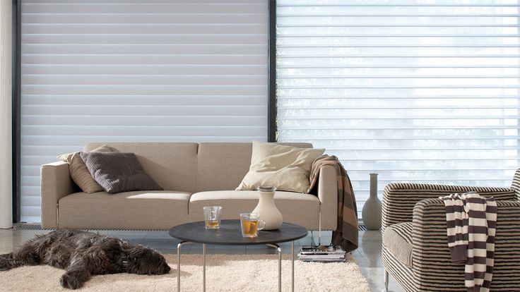Get inspired by Luxflex window decoration. Silhouette® Shades - 100 mm
