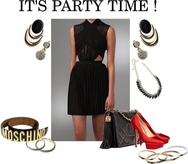 """""""It's party time !"""" by jeminee-jewellery on Polyvore"""