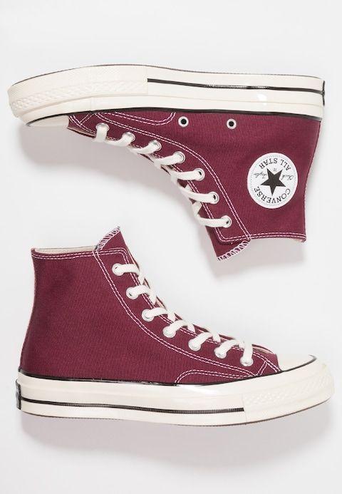 d6cef1bb7eee Converse CHUCK 70 HI - Zapatillas altas - dark burgundy black egret -  Zalando