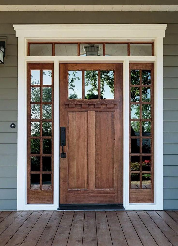 Beautiful rustic exterior design ideas 22 craftsman