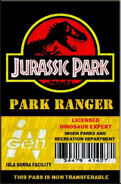 jurassic_park_ranger_id__by_bishanmashrur-d4tac6n.png (PNG Image, 394 × 600 pixels)