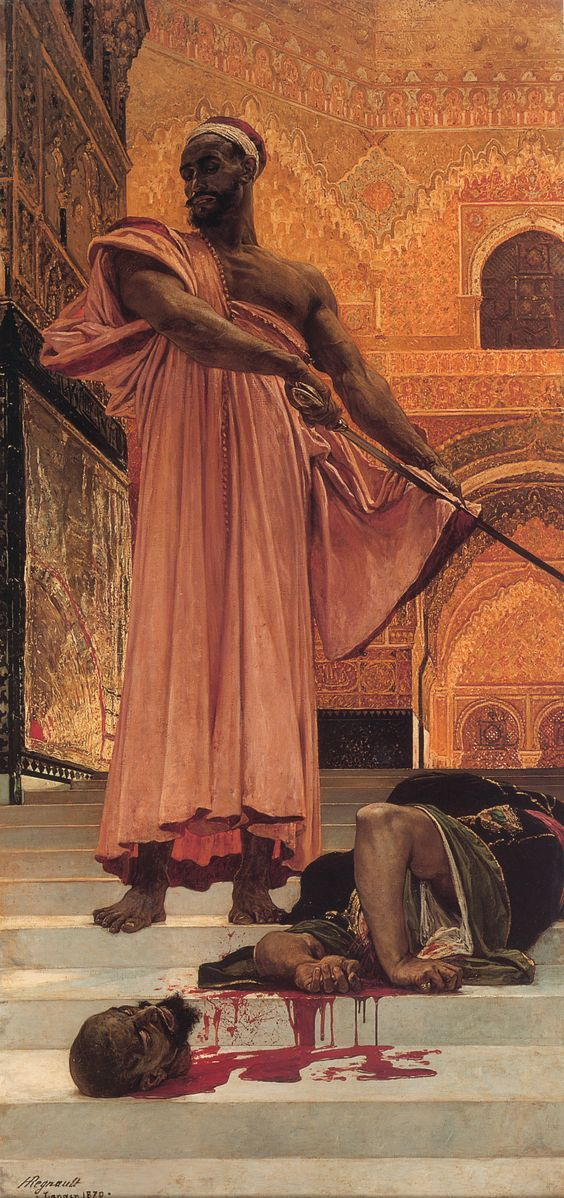 Summary Judgment Under the Moorish Kings of Grenada by Henri Regnault (1843-1871)