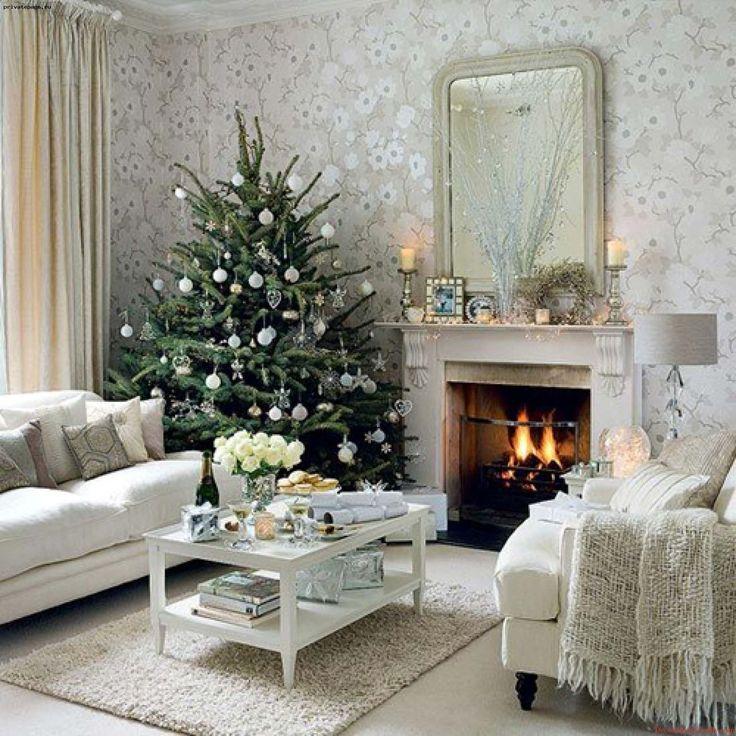 Świąteczne dekoracje stołu. Charming Decorate Your Home For Christmas By Jana Wilson and how to decorate your home for christmas inexpensively