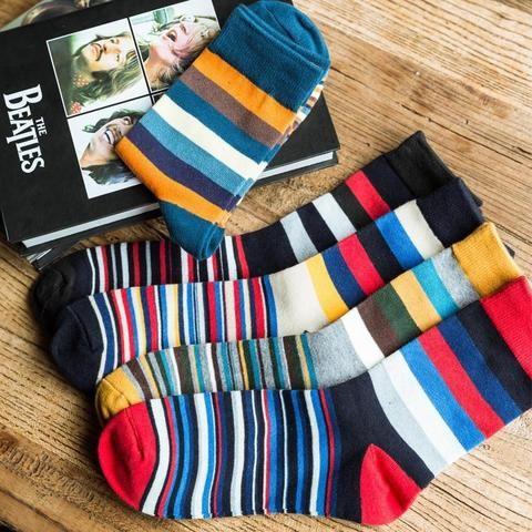Robe Coton Men/'s Business Style Classique Chaussettes