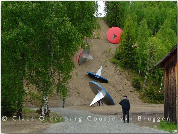 Клас Ольденбург (Claes Oldenburg)_sculptures_17