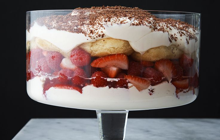 RECIPE: Berry, Sauternes and Mascarpone Trifle from Neil Perry's Good Cooking