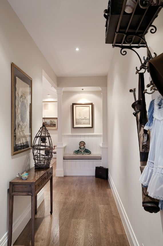 Front entrance hallway, family living,   Constructed by Classic Projects