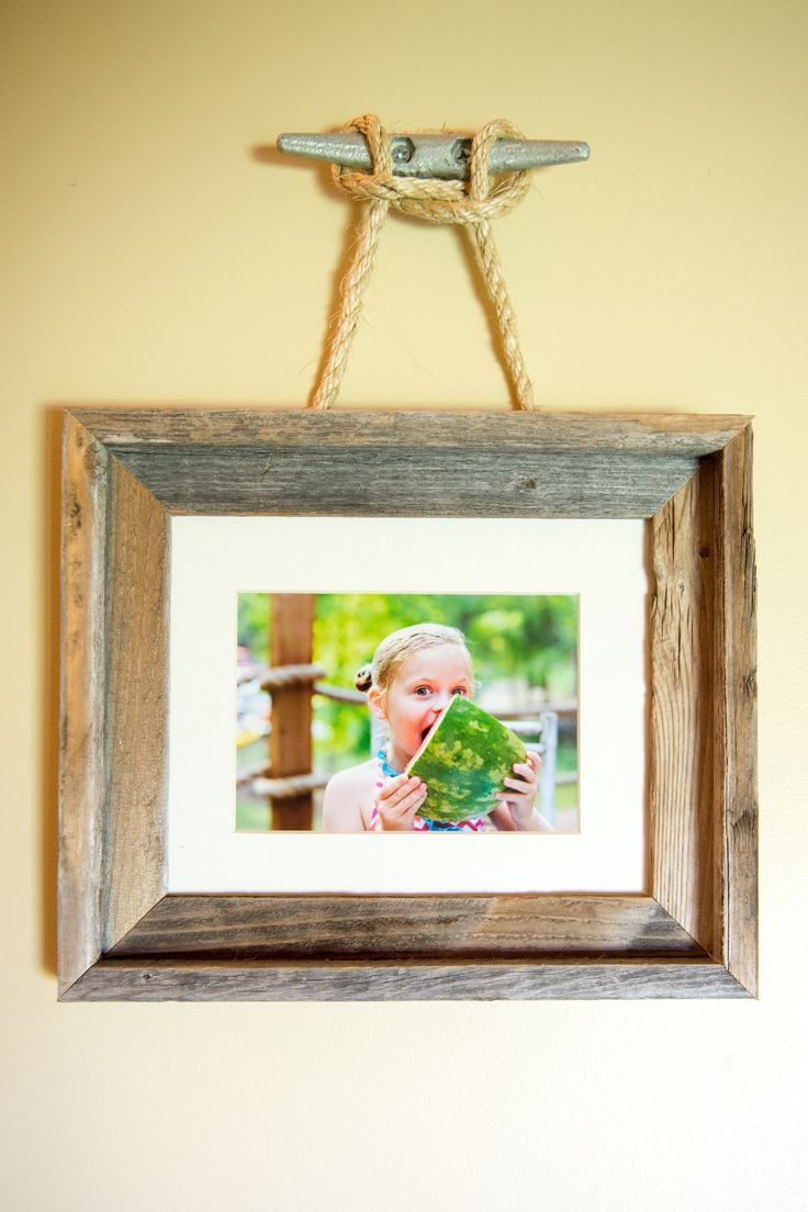 629 best diy picture frames and gallery walls images on pinterest were always on the look out for awesome lake house decor when you jeuxipadfo Gallery
