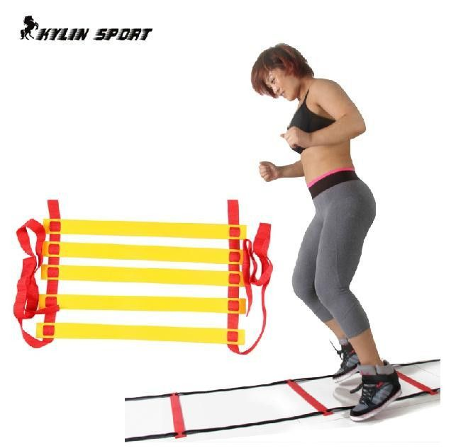 Top Quality 16 section 8 meters long Soccer Training Speed Agility Ladder + Carry Bag Outdoor Fitness Equipment ladder