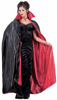 Deluxe Adult Lined Vampire Cape - Vampire Costumes