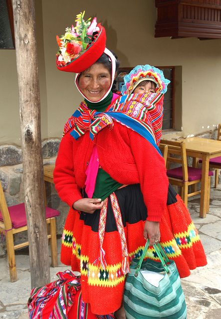 Faces of Sacred Valley. Peru