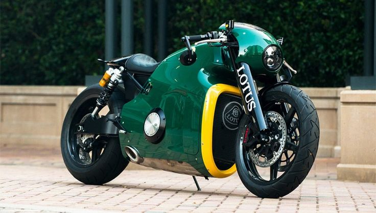 A Never-Before-Ridden Lotus Motorcycle for Sale at Monterey Car Week | Automobiles