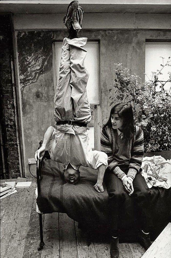 Lucian Freud, 1983.