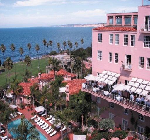 Fantastic Sunday brunch and beautiful views.  La Valencia Hotel in La Jolla California.