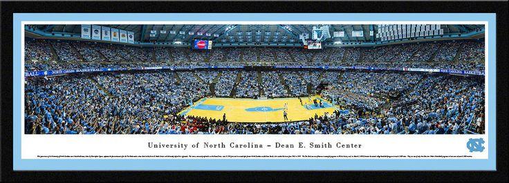 North Carolina Tar Heels Panoramic - Dean E. Smith Center Picture - Basketball