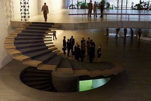 Best Floating Spiral Staircase At Itamaraty Palace Brazils 400 x 300