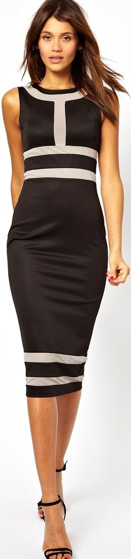 Sexy midi dresses for work - http://boomerinas.com/2014/02/05/sexy-midi-pencil-dresses-for-day-or-evening/