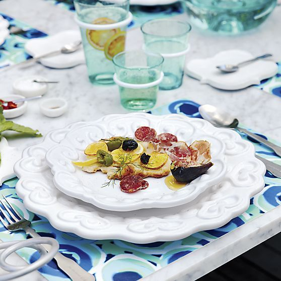 C&B: Riviera Flat Plate in Paola Navone Riviera