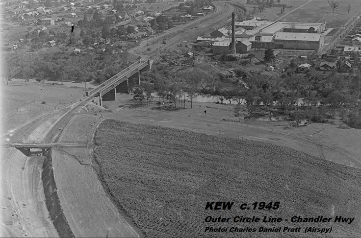 Outer Circle Railway - Bridge