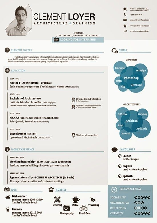 html resume template free