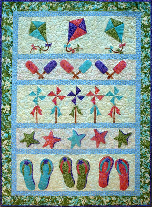 Quilting Patterns Beach Theme : 44 best ideas about Beach-themed quilts on Pinterest Stencils, Shirt quilts and Fish