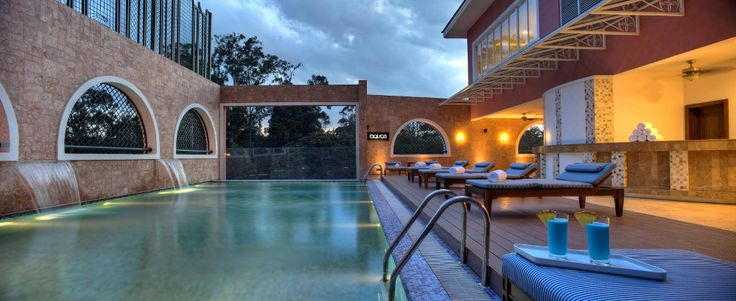 What comes into your mind when you see this picture of Villa Rosa Kempinski Nairobi?