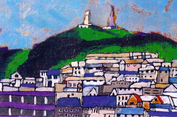 Stephen French Dundee Law Signed Limited Edition Print | Scottish Contemporary Art