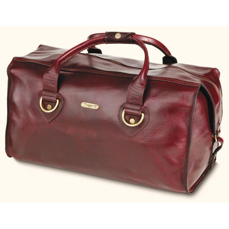 R.M.Williams Large Leather overnight bag | Bag it ...