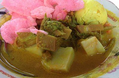 Resep Ketupat Gulai Nangka ( Khas Padang )