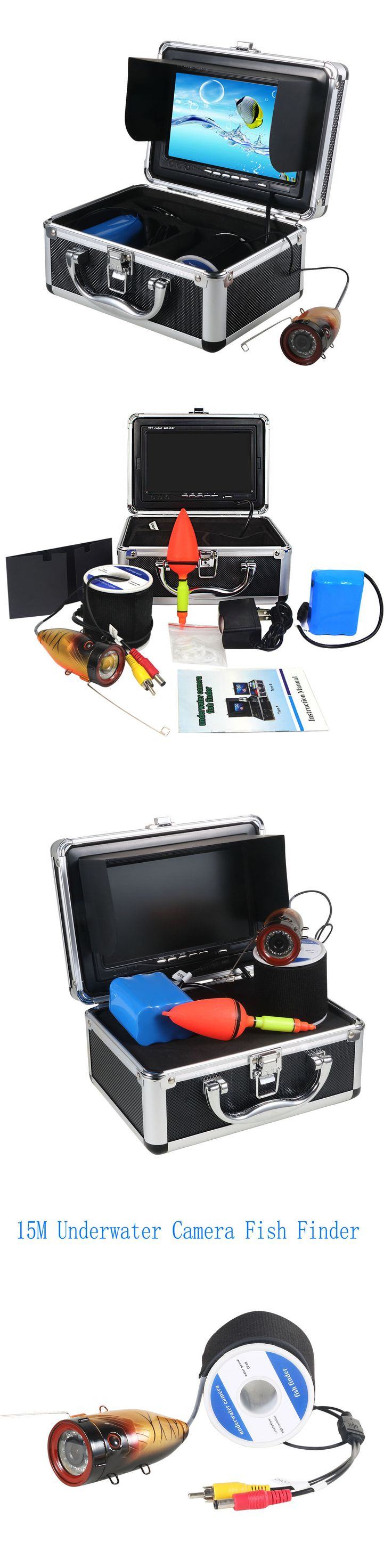 Underwater Cameras 180000: New Fish Finder 7Tft Lcd Color Monitor 1000Tvl Ir Led Underwater Video Camera Y -> BUY IT NOW ONLY: $113.04 on eBay!