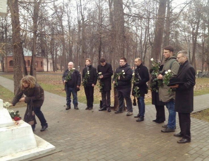 НОВЫЕ ПРАВЫЕ | WHITE Technologies 2033: НДП почтила память московских юнкеров, погибших в ...