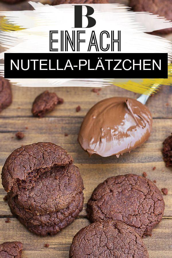 Nutella-Plätzchen – einfach und schnell