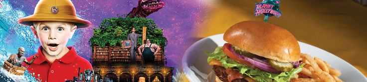 Save up to 27% off Fast Track Entry to Ripley's and a meal at Planet Hollywood.