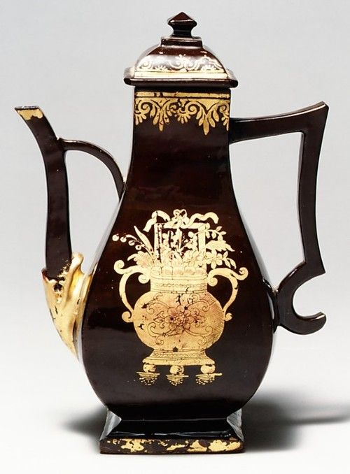 Coffee Pot. Germany, 1735-1740. The Metropolitan Museum of Art