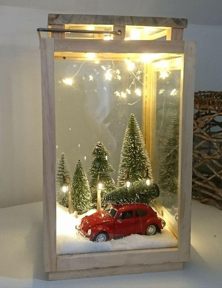 30 tolle Deko-Ideen für Weihnachtslaternen # Weihnachten # Dekoration #schön ….