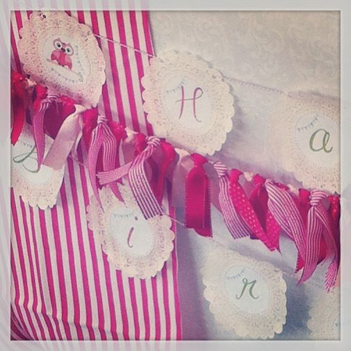 Banner and bunting