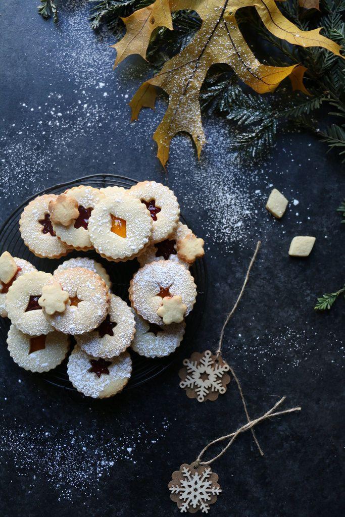 Cashew Lintzer -Sandwich Cookies @foodfashionparty