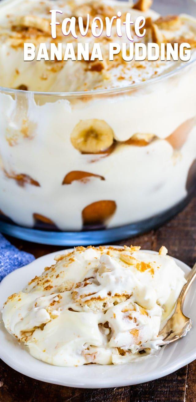 Favorite Banana Pudding Recipe Crazy For Crust Recipe Banana Pudding Banana Pudding Recipes Easy Banana Pudding Recipe